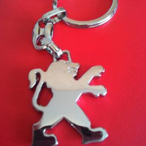 Брелок для ключей металлический оригинальный марка авто пежо Peugeot