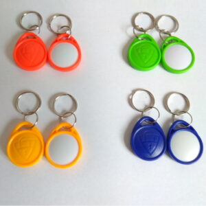 Заготовка к домофонным ключам T5577 ABS двухцветные перезаписываемая