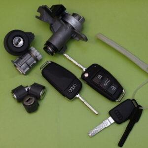 Audi — remote key 315Mhz, комплект замков и ключей, 8EO837220R