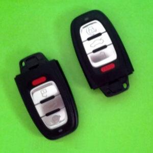 Audi — remote smart key 315Mhz 3+1 кнопки, 8KO959754B