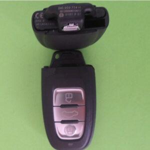 Audi — remote smart key 868Mhz 3 кнопки, 8K0959754H