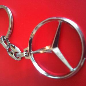 Брелок для ключей металлический оригинальный марка авто мерседес Mercedes