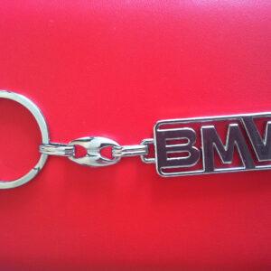 Брелок для ключей металлический оригинальный марка авто бмв BMW