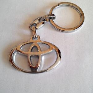 Брелок для ключей металлический оригинальный марка авто тоёта Toyota
