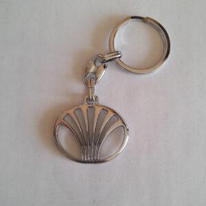 Брелок для ключей металлический оригинальный марка авто дэу Daewoo