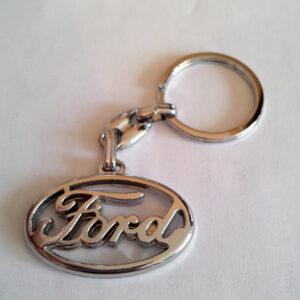 Брелок для ключей металлический оригинальный марка авто форд Ford