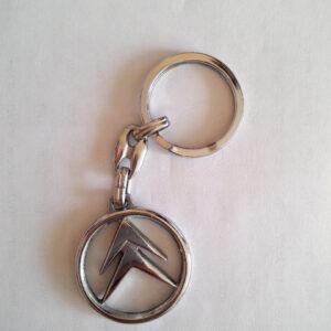 Брелок для ключей металлический оригинальный марка авто ситрое Citroen
