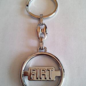 Брелок для ключей металлический оригинальный марка авто фиат Fiat