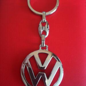 Брелок для ключей металлический оригинальный марка авто Фольксваген VOLKSWAGEN