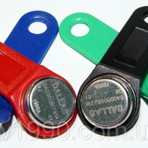 Домофонный контактный электронный ключ Dallass рв1990